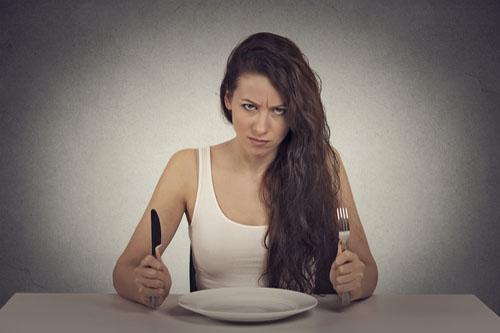 keď si hladný, nie si to ty